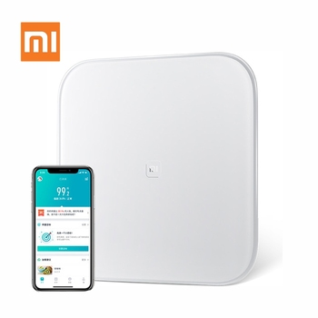 Xiaomi Mijia Smart Scale Mi Weight Health Weighing Scale Digital Mi Scales Support Android 4.4 iOS 7 with Bluetooth 4.0 White