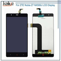 LCD Display For ZTE Nubia Z7 NX506J LCD Display+5.5''Touch Screen Digitizer Touch Panel Senor Mobile Phone Assembly Replacement