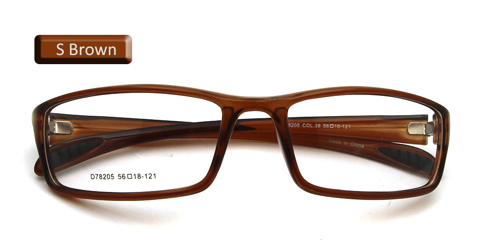 eyewear shiny brown