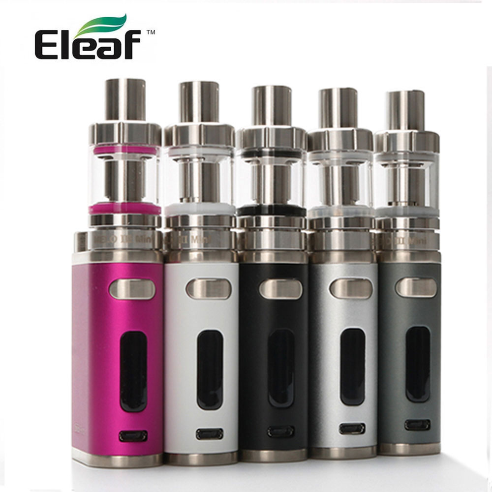 100% Original Eleaf IStick Pico 75w Full Kit With Melo 3 Mini Tank Electronic Cigarette Health Gadget