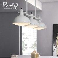 3-Light ahır lambaları mutfak ada/Metal gölge difüzör/52 veya 82cm yüksek