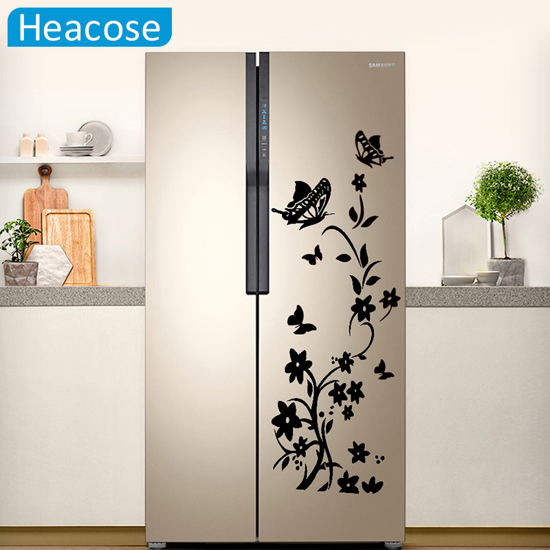 Wall Sticker For Home Decor : Aliexpress buy diy creative butterfly refrigerator