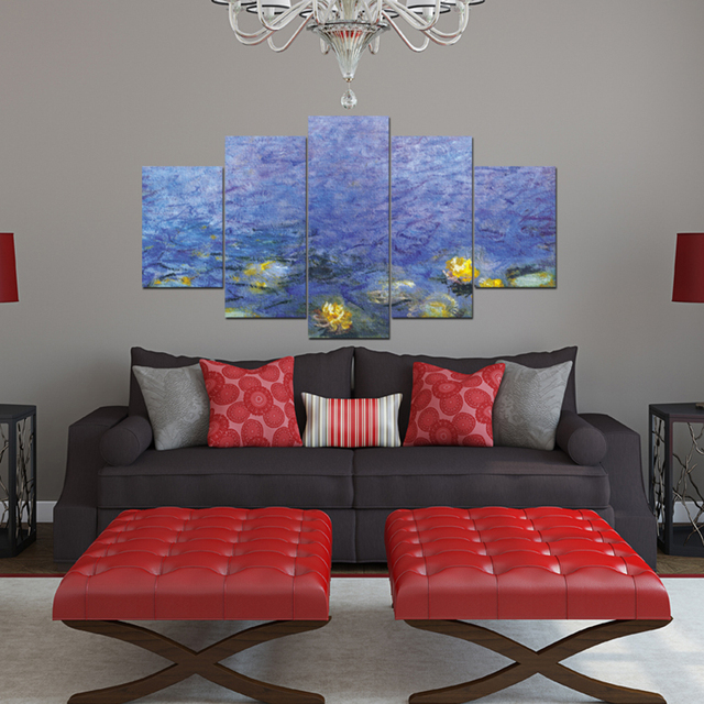 Frameless Wall mounted Painting Abstract Art Wall Paint ...