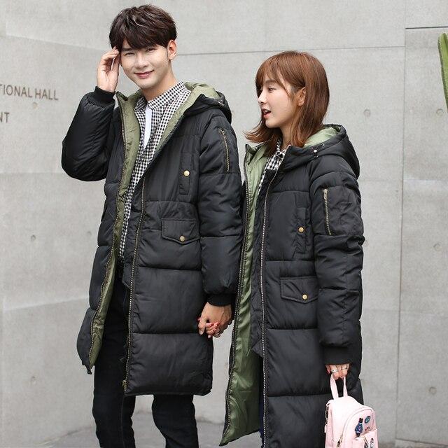New Female Velvet Long Parkas Women Winter Coat Thickening Cotton Winter Jacket Womens Outwear Parkas for Couples Winter Outwear