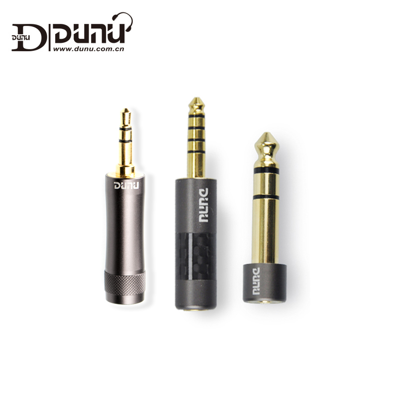 Адаптер для интерфейса Dunu Φ, штекер 3,5 мм на гнездо 2,5 мм от 6,35 до 3,5 4,4 до 2,5 для усилителя музыкального плеера
