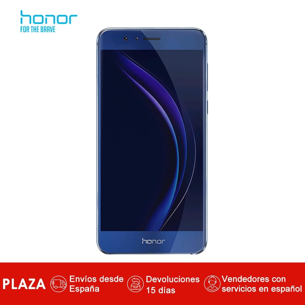 Smartphone Honor 8 4 GB RAM 32 GB ROM 5.2 pouces 12MP caméra arrière 8MP caméra frontale Android 6.0 téléphone portable