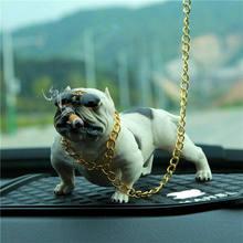 HEIßER Bully Pitbull Hund Auto Innen Dekoration Dashboard Ornament Fashion Lustige Nette Hause Dekoration Auto Zubehör Keine Basis