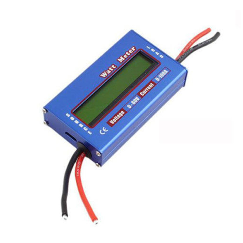 RC Parts Accessories Digital LCD Screen DC 60V 100A Balance Voltage Current Power Battery Analyzer RC Watt Meter Checker