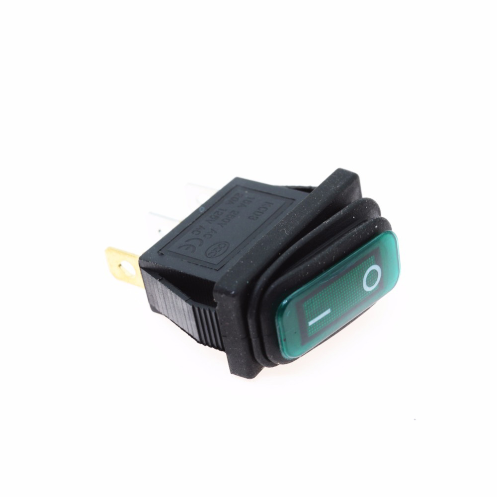 Kcd3 2x1n Waterproof Rocker Switch 15a 250v Boat Black Products 2pdt Dpdt Latching Stomp Foot Pedal Push Button Pcb 1 X