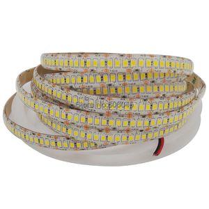 Светодиодная лента, 1800лм/м, высокий CRI> 80, 5 м, 1200 светодиодов, 2835, 12 В, гибкая светодиодная лента, 240 светодиодов/м, Светодиодная лента, белая, те...