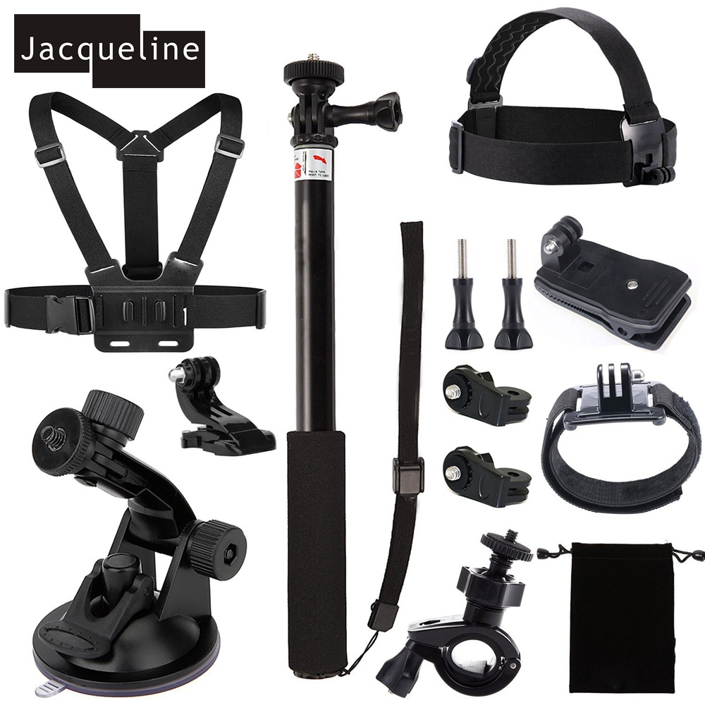 Jacqueline for Accessories Kit for Sony Action Camera Hdr-as15 As20 As30v As100v As200v Hdr-az1 Mini Fdr-x1000v