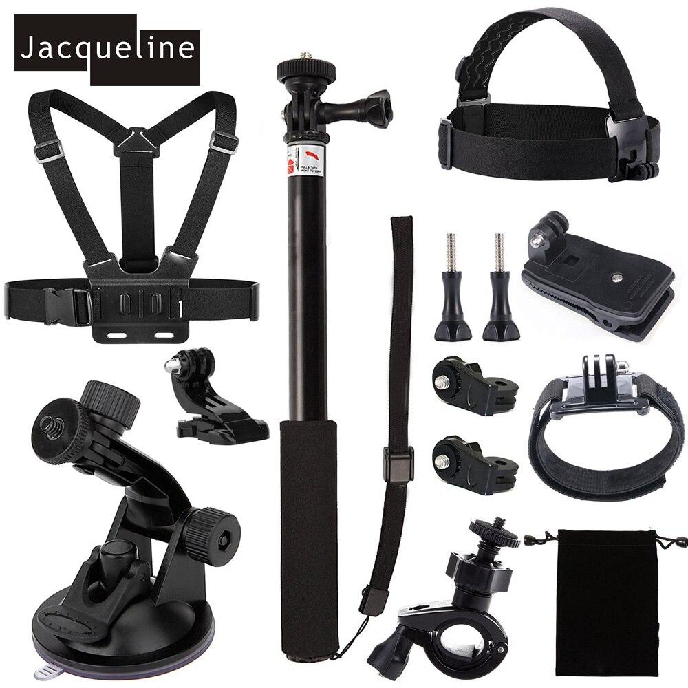 Jacqueline para Kit de accesorios para Cámara de Acción Sony Hdr-as15 As20 As30v As100v As200v Hdr-az1 mini Fdr-x1000v