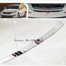 Высокое качество нержавеющая сталь Задний бампер протектор порога для KIA Optima/K5 2011 2012 2013