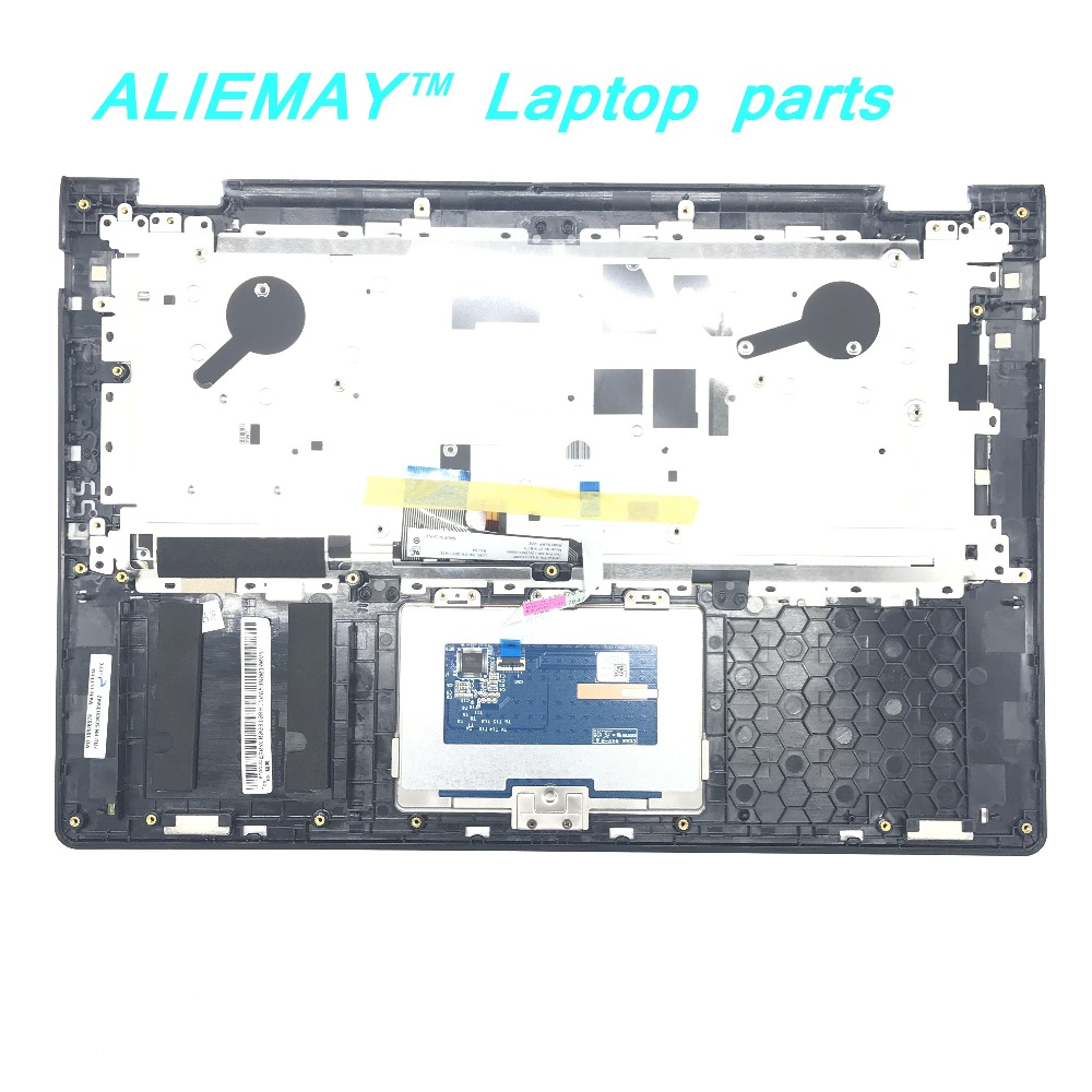Laptop parts for LENOVO YOGA 3 14 Yoga3 14 WHITE Palmrest with Black Backlit FR Keyboard and Touchpad 5CB0H35642 in Replacement Keyboards from Computer Office