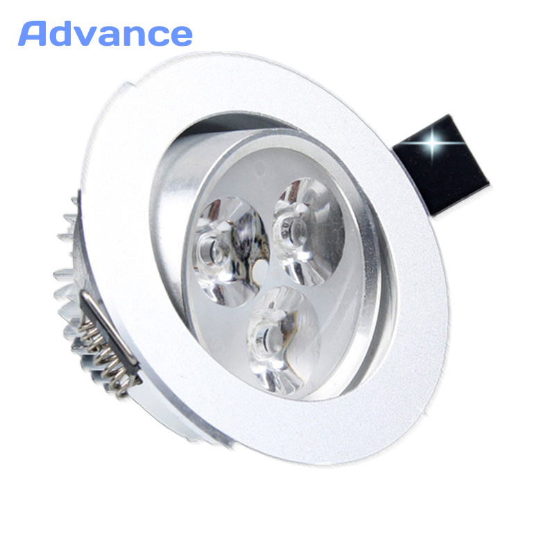 Потолочный светильник Epistar светодиодный потолочный светильник серебряные украшения Встраиваемые пятно света AC165-240v для домашнего освещени...