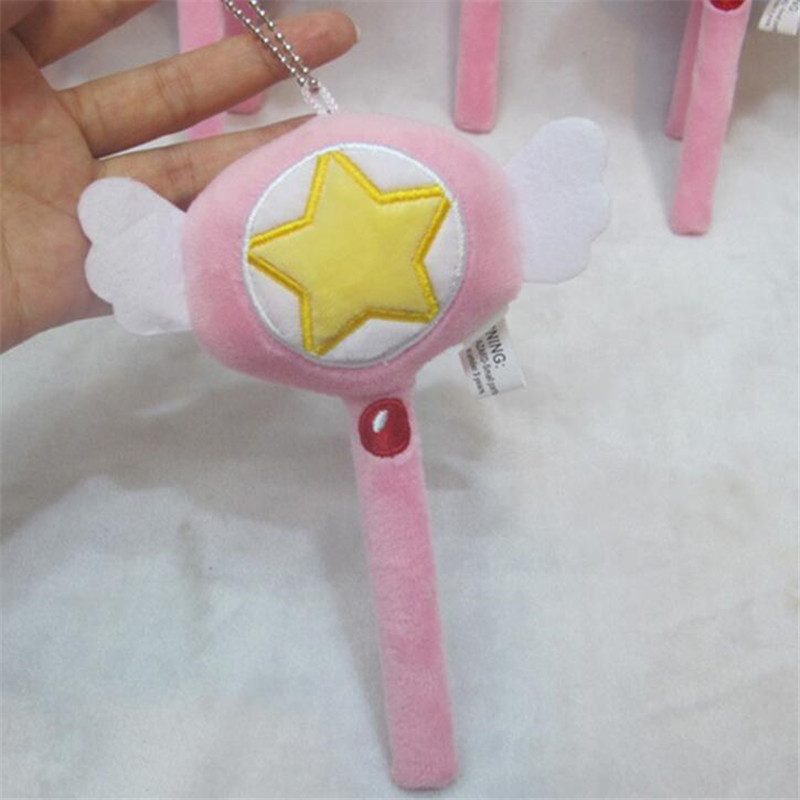 Anime Cardcaptor Sakura Cosplay Props Accessories Magic Wand Sticks Plush Toy Costumes & Accessories Costume Props