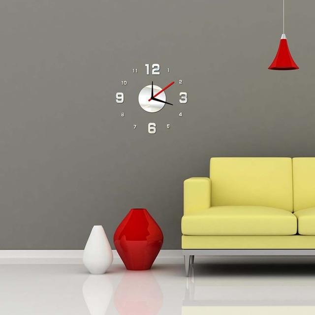 Aliexpress.com : Buy New Creative 3D Mirror Effect Decal Wall ...