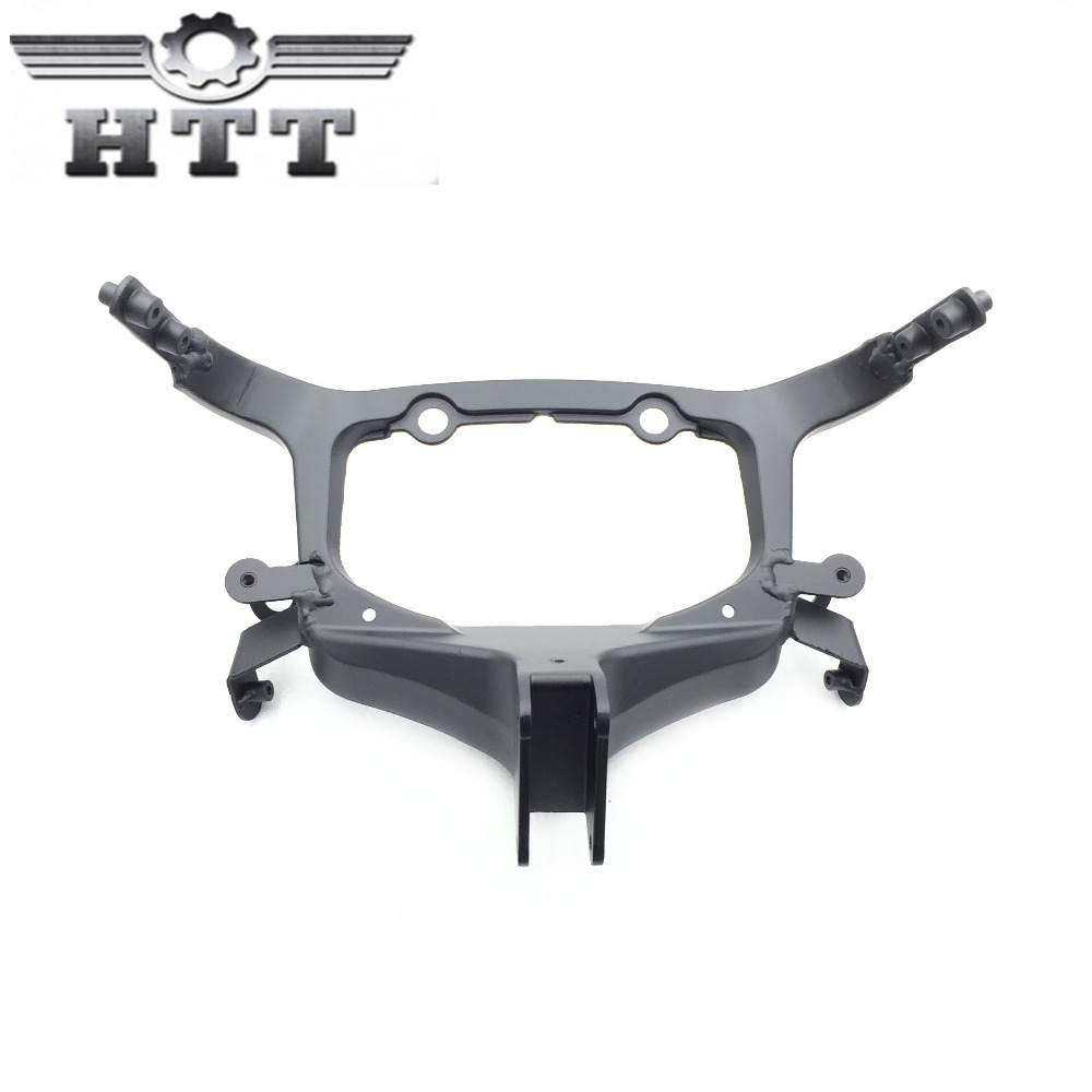 Aftermarket free shipping motorcycle parts Head Cowling Front upper fairing stay brackets for Suzuki  Hayabusa 2008-2012 BLACK aftermarket free shipping motorcycle parts eliminator tidy tail for 2006 2007 2008 fz6 fazer 2007 2008b lack