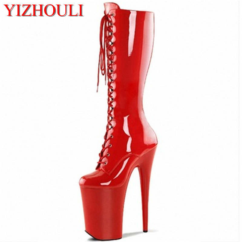 7889410cc6 top 10 sexy pu high heel boots ideas and get free shipping - adji2hlf