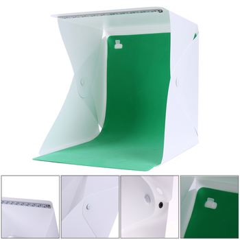 Mini Folding Studio Portable Photography Studio Mini Foldable Softbox Photo Studio Box with USB LED Light 1