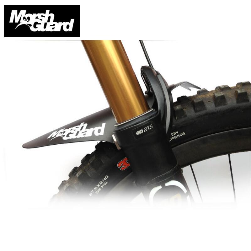 MARSH WACHE Fahrrad Kotflügel MTB Fender Schlamm Wachen Flügel Für Fahrrad Vordere Kotflügel Einfach Zu Montieren Leichteste Bike Fender
