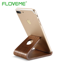 FLOVEME Genuine Wooden Thin Charging Station Holder For IPhone 7 Plus 6 5 S Charger Desktop
