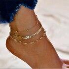 Fashion Crystal Ankl...