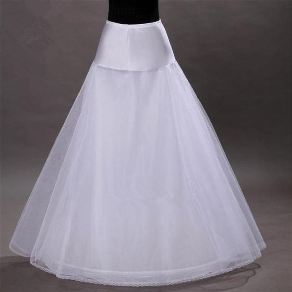 A-line Underskirt Wedding Petticoat Accessories Crinoline For Wedding Dresses