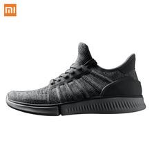 Xiaomi mijia чип междугородние Бег шагомер Обувь молодежи Для мужчин Для женщин Открытый Bluetooth Спорт двойной США ЕС Размеры Обувь