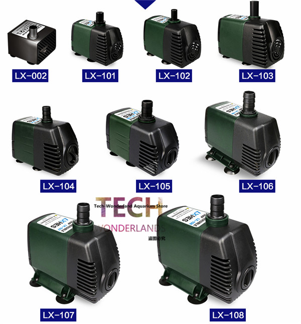 Super quiet and powerful submersible pump for aquarium fish tank water pump LXHES free shipping