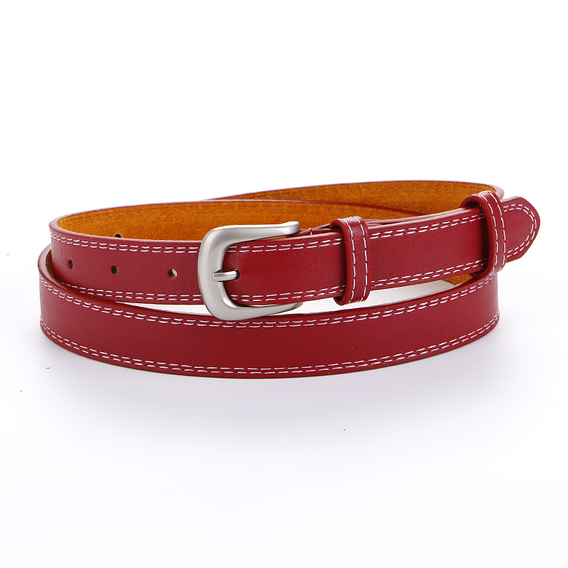 High quality Genuine Leather   Belts   For Women strap   belt   for female cowskin wholesale Classical fashion cowhide Waistband girl
