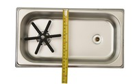 Espresso Parts Pan Dimensions Rinser,stainless Steel
