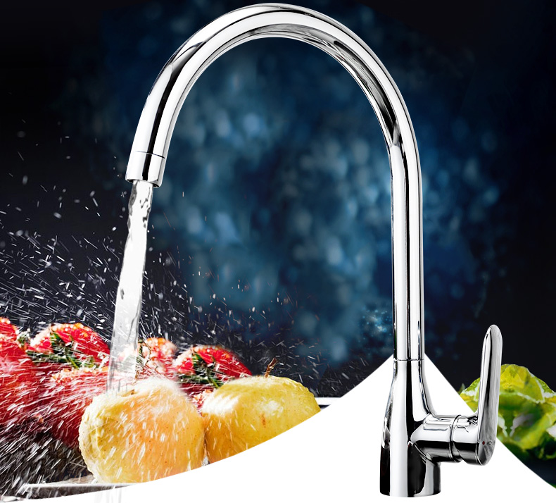 Kitchen faucet sink sink dishwashing hot and cold faucet comparable to single handle kitchen faucet