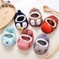 Bebê recém-nascido Da Menina do Menino Dos Desenhos Animados 3d Meias Bebê Boneca Slip-resistente de Borracha Unisex Crianças Criança Meias de Inverno Do Bebê Da Criança Meias chão