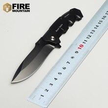 BMT Tactical 217 Hoja 57HRC Cuchillo Plegable Negro con Mango De Aluminio EDC Del Cuchillo de Bolsillo Cuchillos de Caza Que Acampa 7Cr17 Herramienta