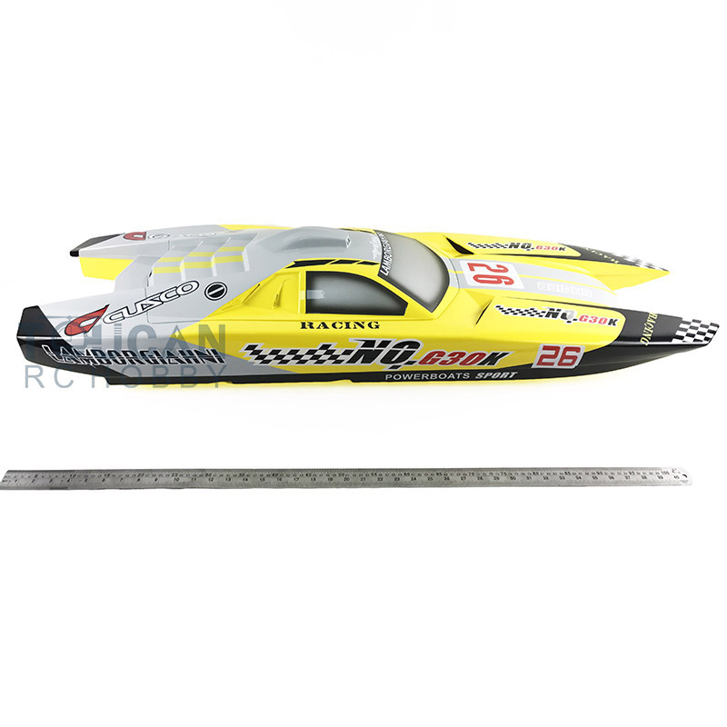 G30K KIT Gasoline Well Painted Boat Hull Only Yellow for Advanced Player k well kwf300n