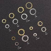 1000 шт золотой полый пеньковый венок украшения для дизайна