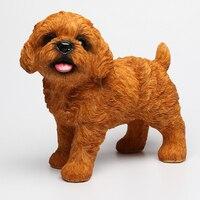 اليدوية الشكل من 12 نوعا من الكلب ديكورات الإبداعي الحلي محاكاة الدائمة الكلب التماثيل الصغيرة