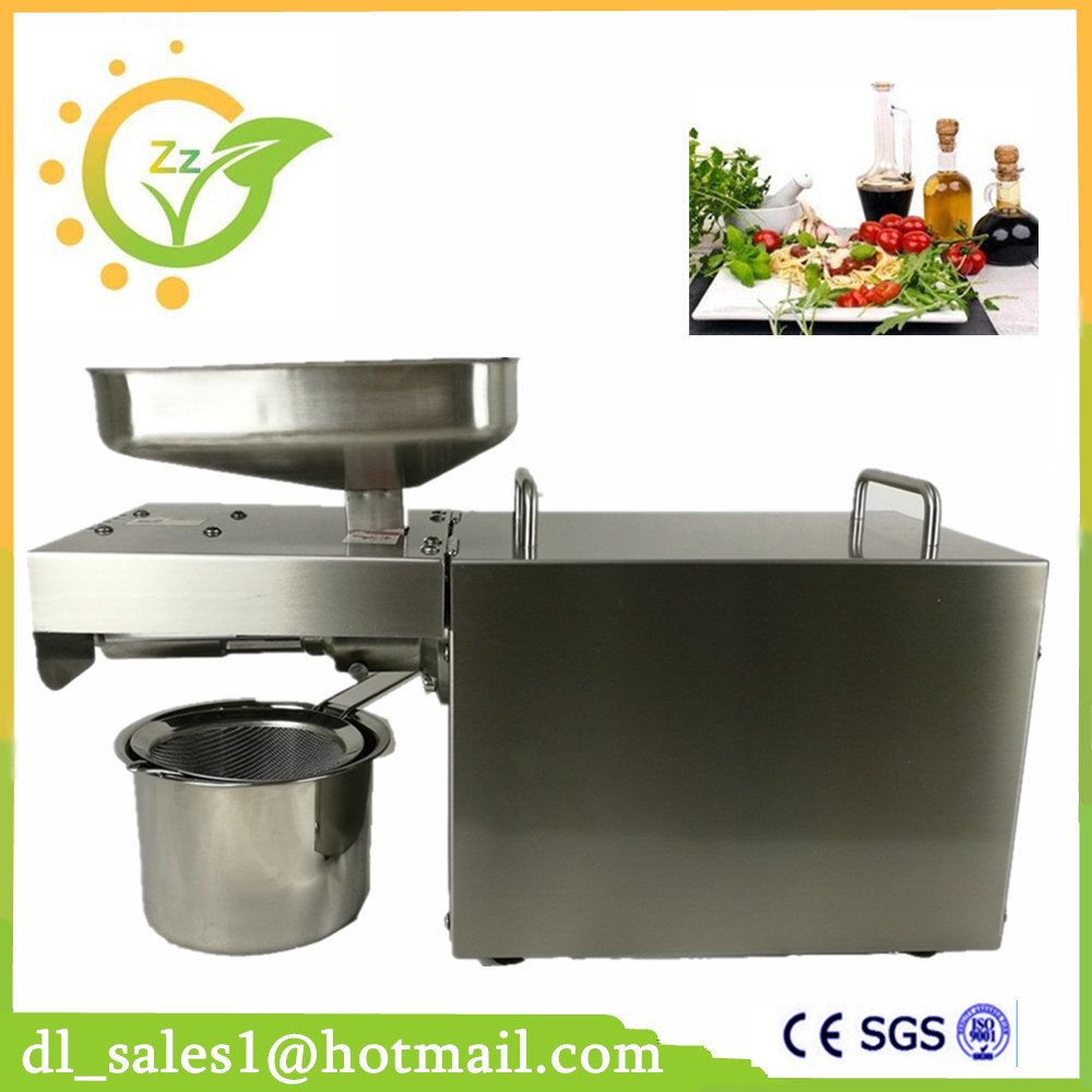 high quality 304 stainless steel automatic cold oil press machine for sale Fedex IE