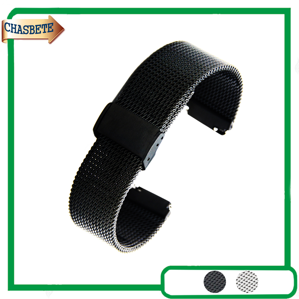 Stainless Steel Watch Band for Amazfit Huami Xiaomi Smart Watchband 22mm Quick Release Metal Strap Belt Wrist Loop Bracelet stainless steel watch band 22mm for amazfit huami xiaomi smart watchband pin clasp strap wrist loop belt bracelet black silver