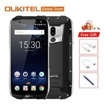 Orijinal OUKITEL WP5000 IP68 Su Geçirmez Smartphone Android 7.1 Helio P25 Octa Çekirdek 6 GB RAM 64 GB ROM 5200 mAh 9 V/2A Cep T...