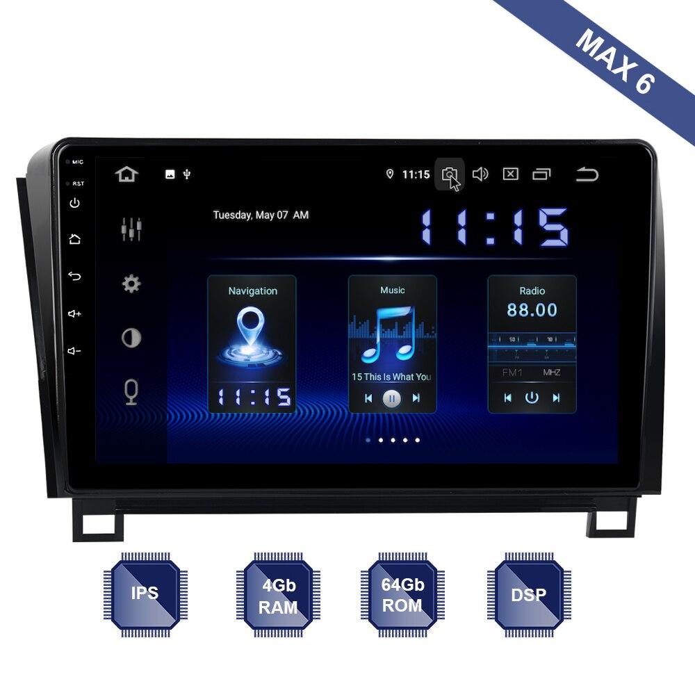 Android 9 0 Car Radio 2 Din GPS Navi For Toyota Tundra 2007 2013 Sequoia 2008