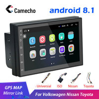 Camecho 7 2Din 8.1 Car DVD Player For Nissan Volkswagen TOYOTA Honda KIA Hyundai Lada Renault mazda Universal Car radio GPS