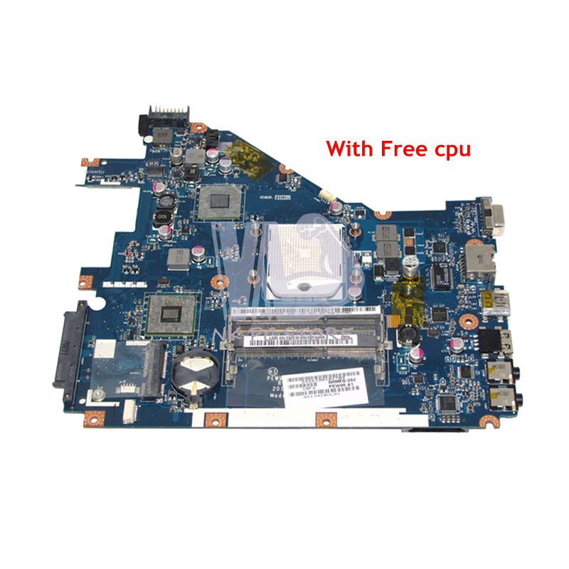 NOKOTION LA-6552P MBR4602001 Motherboard For Acer aspire 5552 5552G Notebook Main Board DDR3 Socket S1 with Free CPU nokotion for acer aspire 5552 5552g laptop motherboard la 6552p mbr4602001 mb r4602 001 ddr3 socket s1 with free cpu