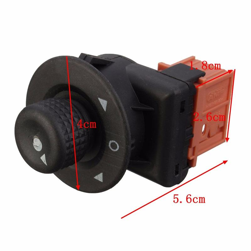 185526 Folding Electric Side Rearview Mirror Adjust Switch Control Mirror Regulation Knob For Citroen Xsara Picasso Elysee