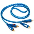 2RCA Audio Cable 1.5/3/5M Oxidation Resistant Design 2RCA Male To 2RCA Male Cable For DVD Digital Player TV Box