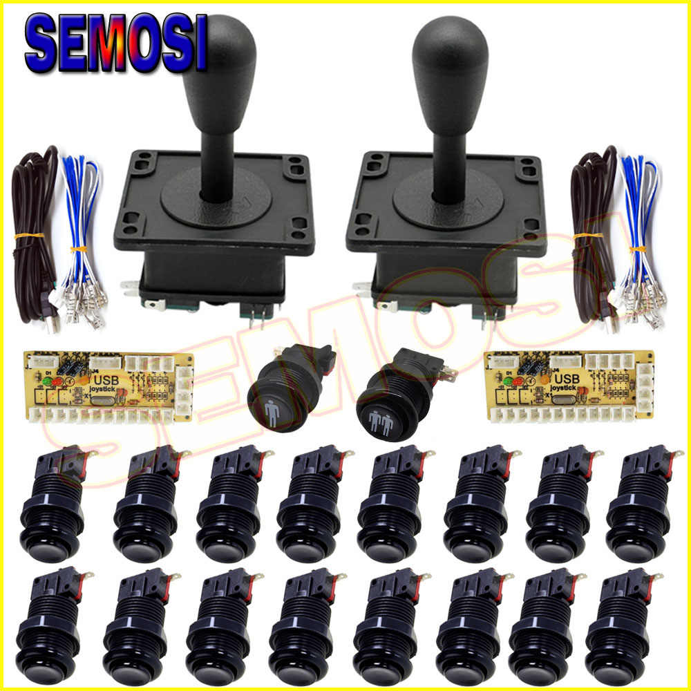 Arcade Game Buttons controller Kit with Arcade USB Encoder