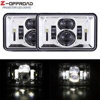 4x6Inch 12V 24V LED Truck Headlight Projector Headlamp for Kenworth T800 T400 T600 W900B W900L Classic 120/132 HK Classic