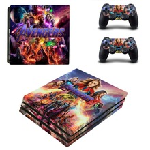 The Avengers Endgame Iron Man PS4 Pro Skin Sticker For PlayStation 4 Pro Console and Controller PS4 Pro Stickers Decal Vinyl