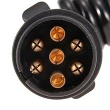 7-pin 12V, 24V Copper Trailer Spring Cable